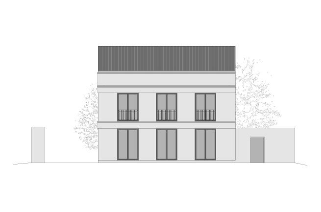 Behrens heinlein architekten einfamilienhaus hof for Einfamilienhaus falkensee